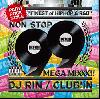 DJ RIN / CLUB'iN [MIX CD] - クラブのピークタイムを99曲入りメガミックス!!