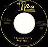 """SONYA SPENCE / PEACE & UNITY [7""""][DI1303] - 泥臭くせつない歌声にノック・アウト!!"""