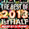 [ͽ��]DJ PLANET / THE BEST OF 2013 1ST HALF [2MIX CD+DVD] - 2013ǯ��Ⱦ��˾�Ƕ��٥���!