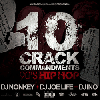 DJ NONKEY & DJ JOE LIFE & DJ INO / 10 CRACK COMMANDMENTS -90'S HIP HOP- [MIX CD]