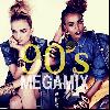 90's Megamix selected by 2GIRL DJ's [MIX CD-R] - アラサー世代にはドストライクな楽曲ばかり!!