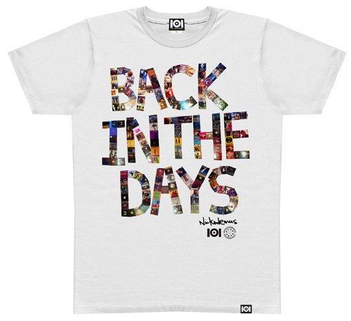 NICKODEMUS / BACK IN THE DAYS MIX CD & T-SHIRT [DI1411][MIX CD+T-SHIRT]