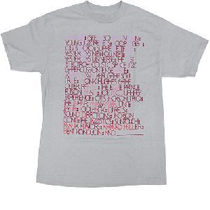 MADLIB ALLIASES T-SHIRT GRY [Tシャツ] - Mサイズ