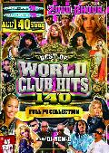 DJ New B / BEST OF WORLD CLUB HITS 140- FULL PV COLLECTION - [2MIX DVD] - 2層式DVD、2枚組の全140曲!約8時間収録!
