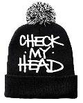 CHECK MY HEAD Jaquard Beanie [Cap] - 90年代の傑作ビースティーズのアルバムタイトルをサンプリング!!
