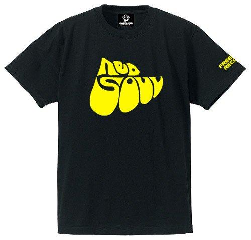 NEO SOUL (ブラック × イエロー) - [ FREEDOM MUSIC Tシャツ ]
