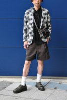 <img class='new_mark_img1' src='https://img.shop-pro.jp/img/new/icons20.gif' style='border:none;display:inline;margin:0px;padding:0px;width:auto;' />m's Braque  Monotone Bloc Pattern Jersey Jacket
