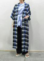 【SOLD OUT】 EDWINA HORL  Check Shirt Coat
