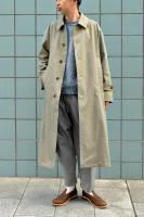 【SOLD OUT】 UNITUS  Bal Collar Coat (Olive)
