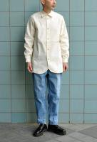 【SOLD OUT】 FRANK LEDER  Vintage Bedsheet Old Style Shirt