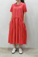 【SOLD OUT】 CABINET Bamboo Dress (Pink)