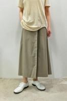 【SOLD OUT】STEPHAN SCHNEIDER   Wrap Long Skirt (Almond)