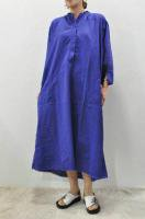 <img class='new_mark_img1' src='//img.shop-pro.jp/img/new/icons8.gif' style='border:none;display:inline;margin:0px;padding:0px;width:auto;' />KristenseN DU NORD  Cotton Boil Long Shirt Dress (Purple)