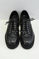 【SOLD OUT】foot the coacher  Commando Shoes / Vibram Sole (Black)