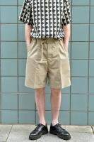 【SOLD OUT】UNITUS Belted Easy Shorts (Beige)