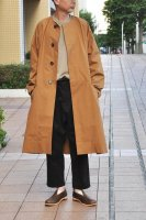 【SOLD OUT】 STUDIO NICHOLSON  Volume Bentile Coat (Cinnamon)