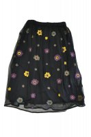 【SOLD OUT】QUEENE and BELLE   Alpina Skirt (Black)