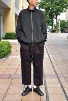 【SOLD OUT】crepuscule  KANOKO Zip Cardigan (Charcoal Grey)