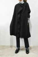 【SOLD OUT】HACHE  Frill No Collar Coat