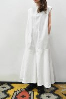 【SOLD OUT】bassike  Undyed Flared Jumpsuit