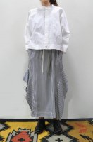 【SOLD OUT】bassike  Cropped Shirt