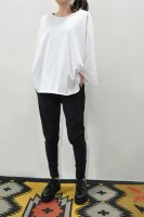 【SOLD OUT】KristenseN DU NORD Cotton Jersey 3/4 Sleeve Tee (White)