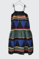 【SOLD OUT】QUEENE and BELLE  Nola Dress (Black Multi)