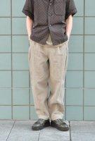【SOLD OUT】FRANK LEDER Stonewashed Linen Pant (L.Grey)