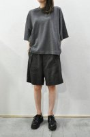 【SOLD OUT】crepuscule  Knit Tee (C.Grey)