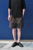 【SOLD OUT】m's Braque  Gurkha Shorts (Brown Check)