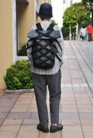 【SOLD OUT】BRAASI INDUSTRY  WICKER Back Pack (Grey)