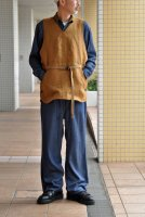【SOLD OUT】NICENESS Linen Canvas Ollvest (D.Brown)