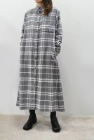 <img class='new_mark_img1' src='https://img.shop-pro.jp/img/new/icons20.gif' style='border:none;display:inline;margin:0px;padding:0px;width:auto;' />m's braque  Shirts Dress (Grey Check)