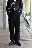【SOLD OUT】FRANK LEDER  Deutscheleder Trouser(black)