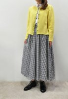 <img class='new_mark_img1' src='https://img.shop-pro.jp/img/new/icons20.gif' style='border:none;display:inline;margin:0px;padding:0px;width:auto;' />CABINET  Wool Cardigan (Yellow)
