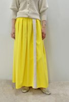 <img class='new_mark_img1' src='https://img.shop-pro.jp/img/new/icons8.gif' style='border:none;display:inline;margin:0px;padding:0px;width:auto;' />CABINET  Alpaca Panal Skirt (Yellow)