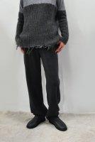 【SOLD OUT】KristenseN DU NORD  Cashmere Knit Pants (Dark Grey Melange)