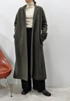 <img class='new_mark_img1' src='https://img.shop-pro.jp/img/new/icons8.gif' style='border:none;display:inline;margin:0px;padding:0px;width:auto;' />STEPHAN SCHNEIDER  Boiled Wool Long Coat (Olive)