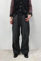 <img class='new_mark_img1' src='https://img.shop-pro.jp/img/new/icons8.gif' style='border:none;display:inline;margin:0px;padding:0px;width:auto;' />MASTER&CO.  Flannel 6 Pocket Pant /with belt (Charcoal/S)