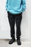 【SOLD OUT】unfil  Super Fine Merino Wool Kint Pants (Charcoal)