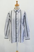 【SOLD OUT】m's braque   Ethnic Embroidery Shirt