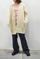 <img class='new_mark_img1' src='https://img.shop-pro.jp/img/new/icons8.gif' style='border:none;display:inline;margin:0px;padding:0px;width:auto;' />unfil  French Merino Cable knit Cardigan (Natural)