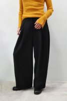 【SOLD OUT】STUDIO NICHOLSON  Loose Leg Pants with Pocket (Black)