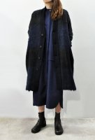 <img class='new_mark_img1' src='https://img.shop-pro.jp/img/new/icons8.gif' style='border:none;display:inline;margin:0px;padding:0px;width:auto;' />STEPHAN SCHNEIDER  Shaggy Check Cardigan Coat