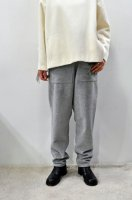 【SOLD OUT】TENNE HANDCRAFTED MODERN  Weave and Knit Tapered Pants (L.Grey)