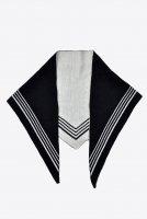 【SOLD OUT】NICENESS Ex.Fine Wool Half Bandana (Navy)