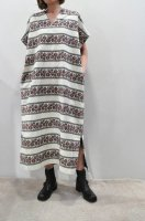 【SOLD OUT】HIROMI TSUYOSHI  Embroidery Kaftan Dress