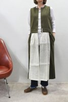 <img class='new_mark_img1' src='https://img.shop-pro.jp/img/new/icons8.gif' style='border:none;display:inline;margin:0px;padding:0px;width:auto;' />HIROMI TSUYOSHI  Long Knit Vest (Khaki)