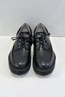 <img class='new_mark_img1' src='https://img.shop-pro.jp/img/new/icons8.gif' style='border:none;display:inline;margin:0px;padding:0px;width:auto;' />foot the coacher  Chaos D-Ring Shoes Plain (Black)