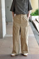 <img class='new_mark_img1' src='https://img.shop-pro.jp/img/new/icons8.gif' style='border:none;display:inline;margin:0px;padding:0px;width:auto;' />NICENESS  Double Knee Chino Pants (Beige)